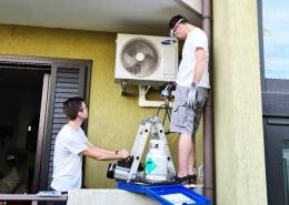 Onderhoud en installatie F gassen bijvullen in Italië